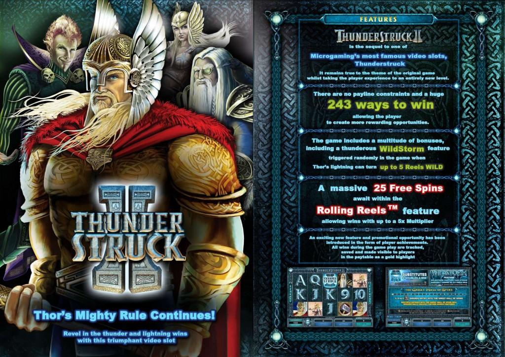 thunderstruck 2 casino game